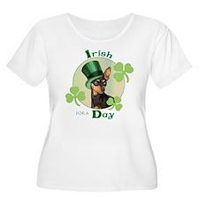 St. Patrick Min Pin T-Shirt