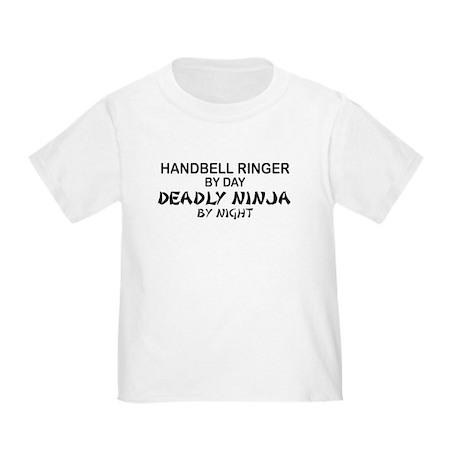 Handbell Ringer Deadly Ninja Toddler T-Shir