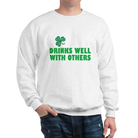 Drinks Well With Others - Sweatshirt