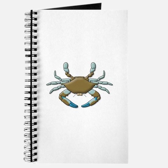 Cool Blue crabs Journal