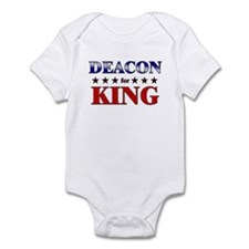 DEACON for king Infant Bodysuit