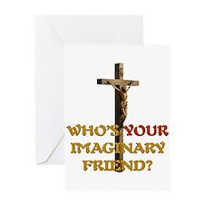 Environment jesus Greeting Card