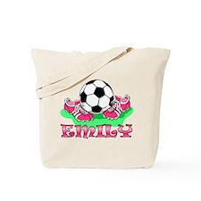 Girl Soccer (Emily) Tote Bag