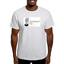 Got Blues? Mic Shirt