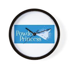 Powder Princess 1 Wall Clock