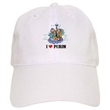 I Love Purim Baseball Cap