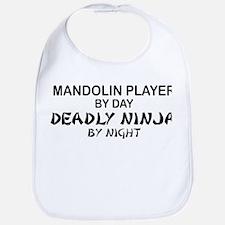Mandolin Player Deadly Ninja Bib