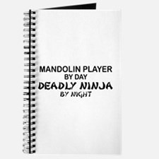 Mandolin Player Deadly Ninja Journal