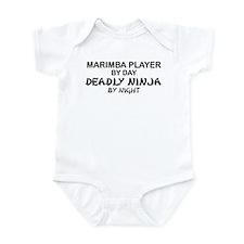 Marimba Player Deadly Ninja Infant Bodysuit