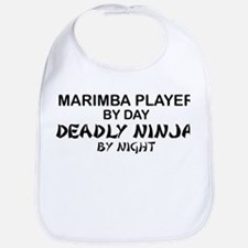 Marimba Player Deadly Ninja Bib