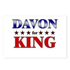 DAVON for king Postcards (Package of 8)