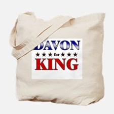 DAVON for king Tote Bag
