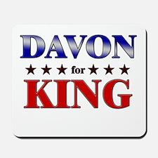 DAVON for king Mousepad