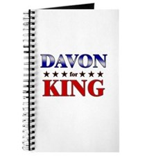 DAVON for king Journal