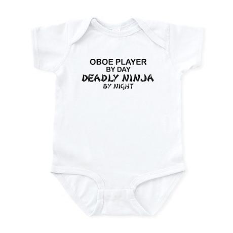 Oboe Player Deadly Ninja Infant Bodysuit