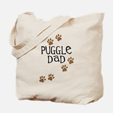 Puggle Dad Tote Bag