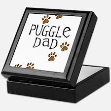 Puggle Dad Keepsake Box