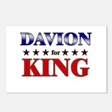 DAVION for king Postcards (Package of 8)