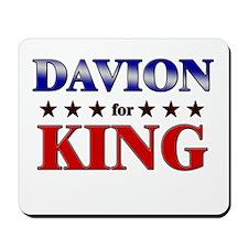 DAVION for king Mousepad