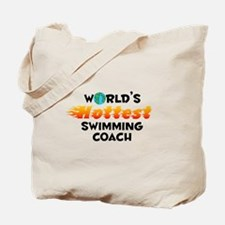 World's Hottest Swimm.. (C) Tote Bag
