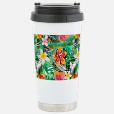 Tropical Aloha Jungle P Stainless Steel Travel Mug