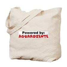 Powered by Aguardiente Tote Bag