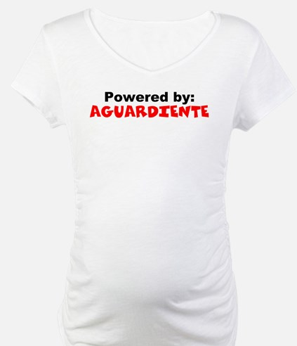 Powered by Aguardiente Shirt