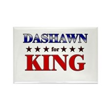 DASHAWN for king Rectangle Magnet