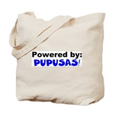 Powered by Pupusas Tote Bag
