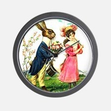 EASTER BUNNY LOVE Wall Clock
