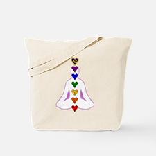 Chakras - Hearts Tote Bag