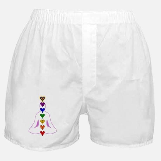 Chakras - Hearts Boxer Shorts