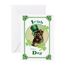 St. Patrick GSD Greeting Card
