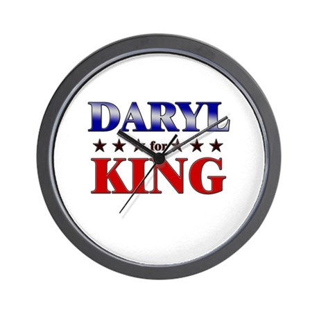 DARYL for king Wall Clock