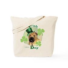 St. Patrick Shar-Pei Tote Bag