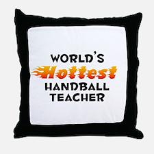 World's Hottest Handb.. (B) Throw Pillow