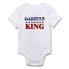 DARRYLE for king Infant Bodysuit