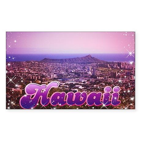Hawaii 1982 Rectangle Sticker