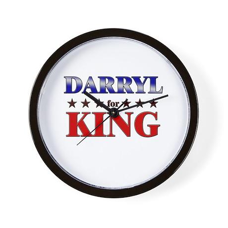 DARRYL for king Wall Clock