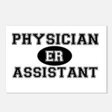 ER Physician Assistant Postcards (Package of 8)