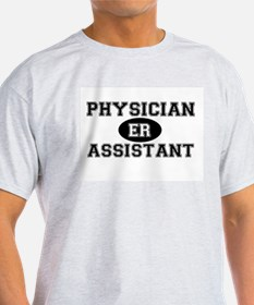 ER Physician Assistant Ash Grey T-Shirt