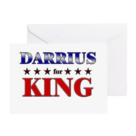 DARRIUS for king Greeting Card