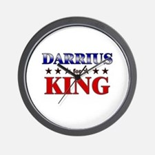 DARRIUS for king Wall Clock