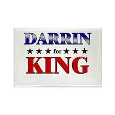 DARRIN for king Rectangle Magnet