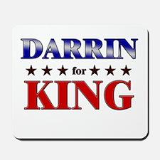 DARRIN for king Mousepad