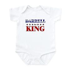 DARRELL for king Infant Bodysuit