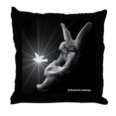 Angel & Dove Throw Pillow