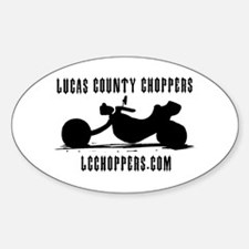 LCC Oval Decal