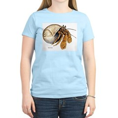Hermit Crab Women's Pink T-Shirt