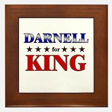 DARNELL for king Framed Tile